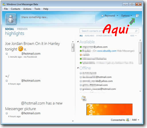 tela-principal-windows-live-messenger-2010