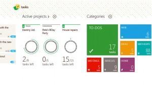 Tasks Project windows 8