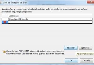 lista_sites_confiaveis_java