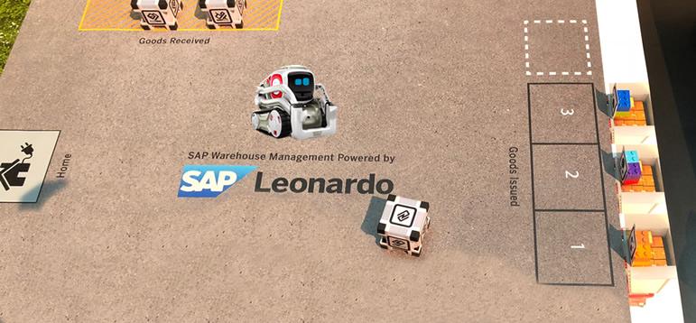 Cozmo SAP Leonardo - SAP Forum