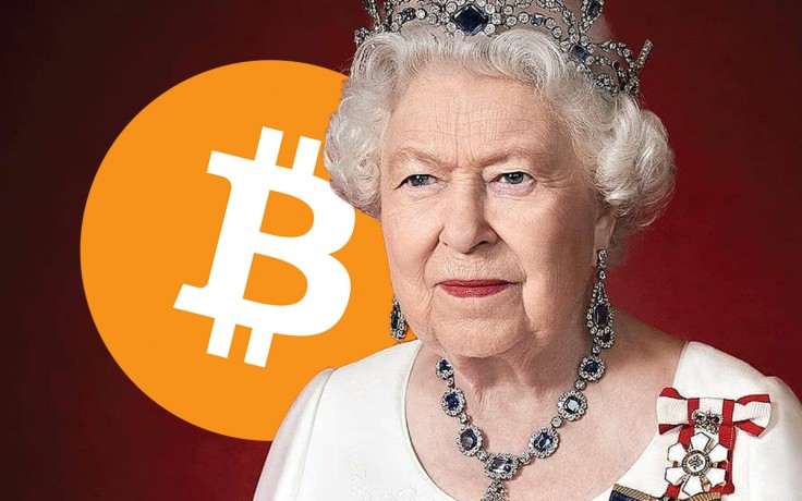 Rainha Elizabeth Blockchain